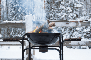 winter grill