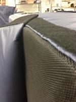 AV cover_Velcro fastening