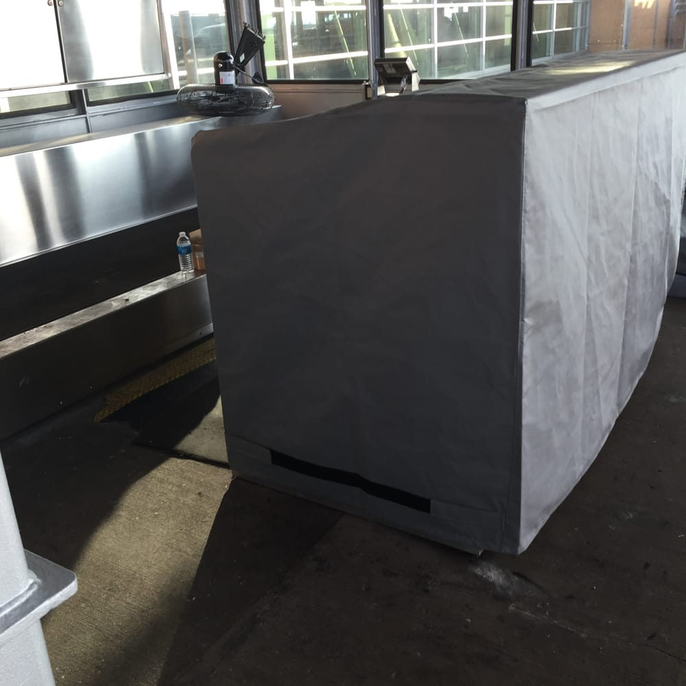 Airport Skycap Kiosk Cover Herc 80 Grey