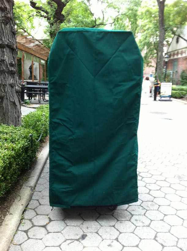 Cart cover_Sunbrella_Forest green