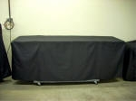 Cart table rack cover_Cotton_Black