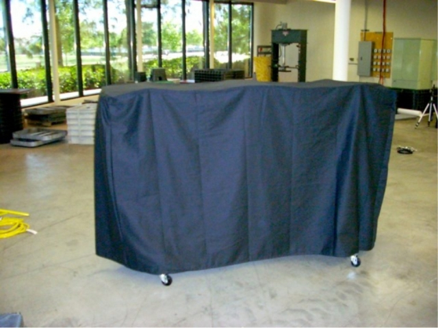Chair cart cover_Nylon 420_Black