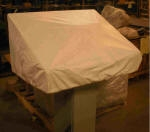 Contro panel cover_Tyvek_White