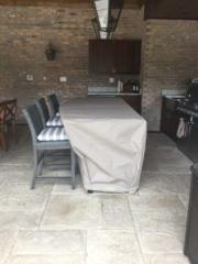 Counter Cover Sunbrella 2