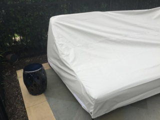 Daybed Cover Stamoid Light Color Pearl Grey