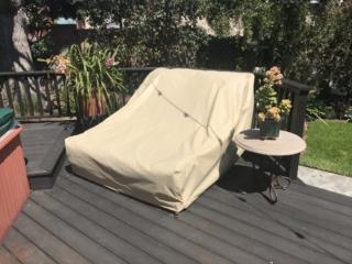 Dual Chaise Chair Cover Sunbrella