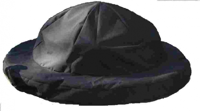 Fire Pit cover Domed Sunbrella Black