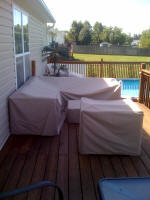 L Shape Sectional Cover