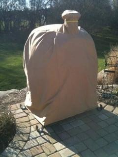Oven Cover Sunbrella Toast