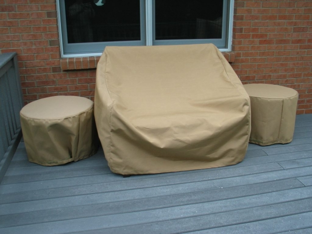 Patio Set Covers Sunbrella Color Toast