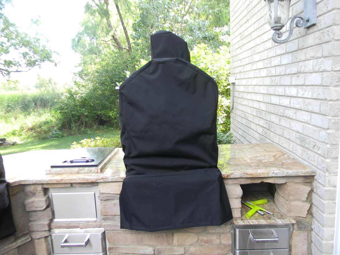 Smoker Cover SeaMark Black