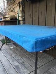 Table Top Cover Sunbrella Silica Carribean (2)