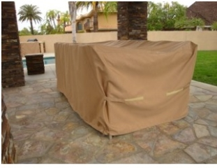 Table and Chair Cover Sunbrella Beige