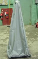 Voltage divider dust cover_Nylon 420_Gray