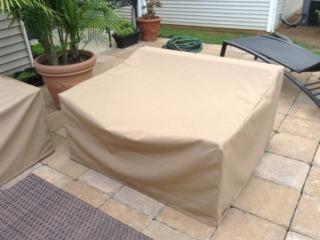 Wide Chair Cover Sunbrella